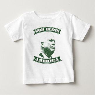 Camiseta Para Bebê John McCain