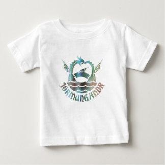 Camiseta Para Bebê Jormungandr
