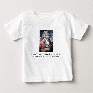 Camiseta Para Bebê Joseph Bologne, Cavaleiro de Santo-Georges