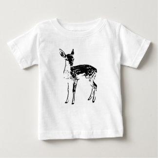 Camiseta Para Bebê Jovem corça - cervo do bebê