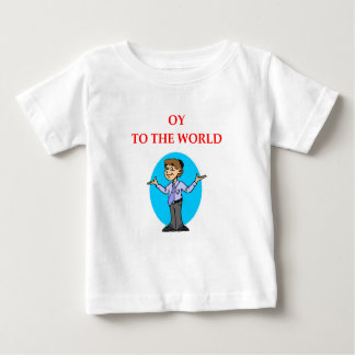 Camiseta Para Bebê judaico