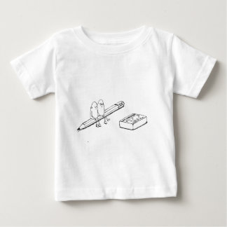 Camiseta Para Bebê Junto para sempre