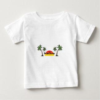 Camiseta Para Bebê Kailua Havaí