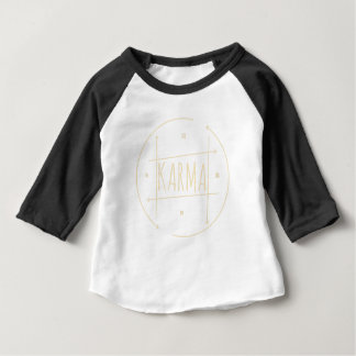 Camiseta Para Bebê Karmas (para o fundo escuro)