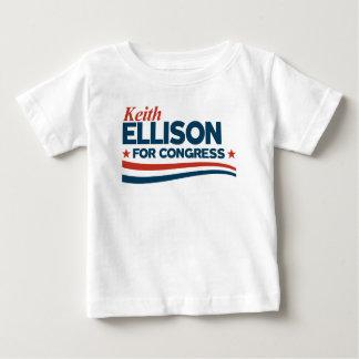 Camiseta Para Bebê Keith Ellison