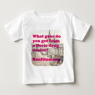 Camiseta Para Bebê Kenfitamean
