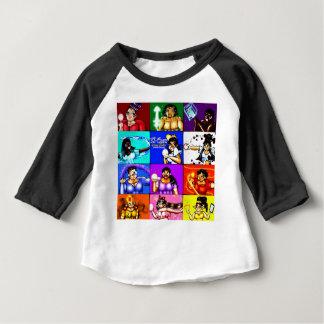 Camiseta Para Bebê Ki-Chan: Bloco do caçador do demónio