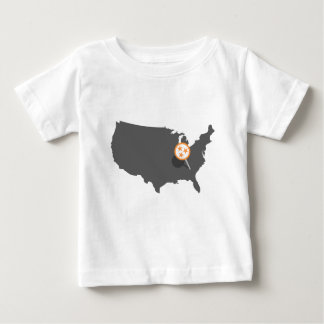 Camiseta Para Bebê Knoxville PONTUAL Tennessee