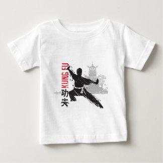 Camiseta Para Bebê Kung Fu