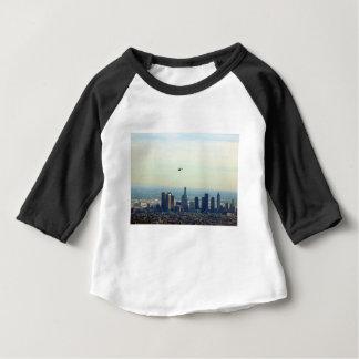 Camiseta Para Bebê LA e helicóptero