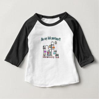 Camiseta Para Bebê Laboratório de química