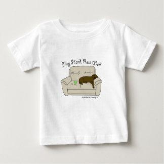 Camiseta Para Bebê laboratório do chocolate