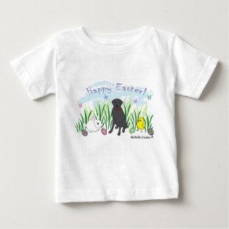 Camiseta Para Bebê laboratório preto