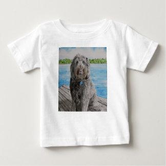 Camiseta Para Bebê Labradoodle Stewart
