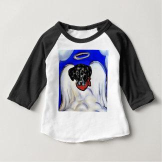 Camiseta Para Bebê Labrador retriever preto
