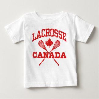 Camiseta Para Bebê Lacrosse Canadá