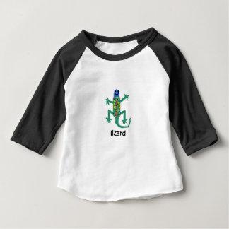 Camiseta Para Bebê Lagarto