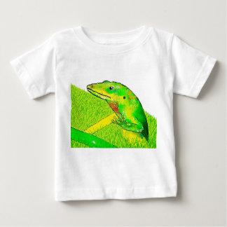 Camiseta Para Bebê Lagarto ambos os lados, Bugly a borboleta,
