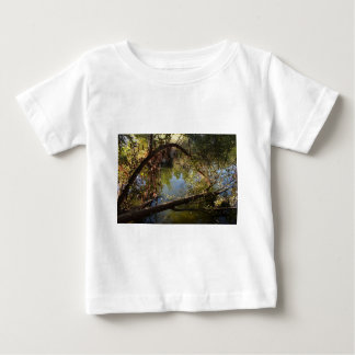 Camiseta Para Bebê Lago 4 park da garganta de Franklin