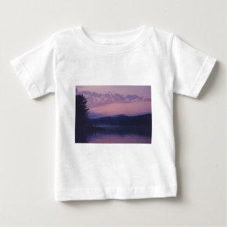 Camiseta Para Bebê Lago indiano, parque de Adirondack, NY