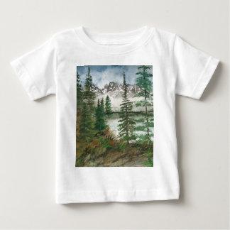 Camiseta Para Bebê Lago jackson Hole Jenny