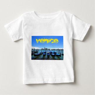 Camiseta Para Bebê Lagoa azul em Veneza, Italia