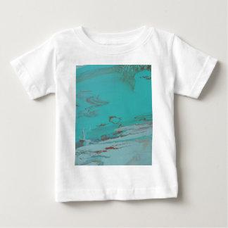 Camiseta Para Bebê Lagoa de cobre