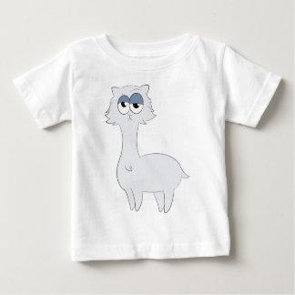 Camiseta Para Bebê Lama mal-humorado do gato persa