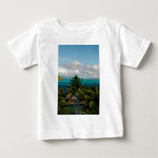 Camiseta Para Bebê Landscape of bora bora