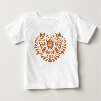 Camiseta Para Bebê Lareira popular