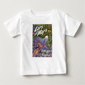 Camiseta Para Bebê Lars de Marte e do monstro Inseto-eyed do