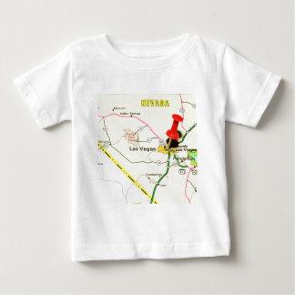 Camiseta Para Bebê Las Vegas, Nevada