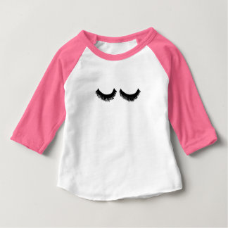 Camiseta Para Bebê LASHLIFE caçoa o T