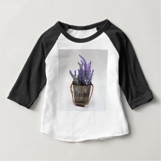 Camiseta Para Bebê lavander