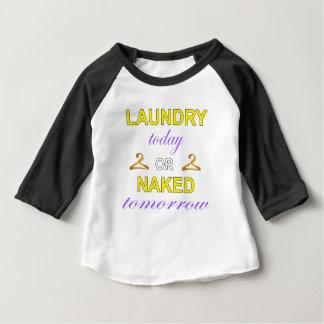 Camiseta Para Bebê Lavanderia