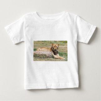 Camiseta Para Bebê Leão