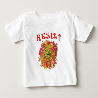 Camiseta Para Bebê Leão da resistência