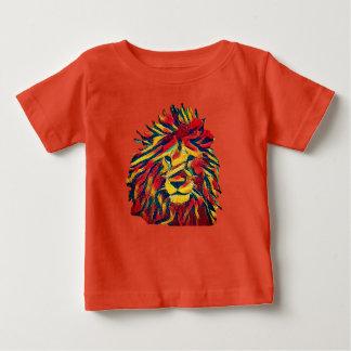 Camiseta Para Bebê Leão de Rasta