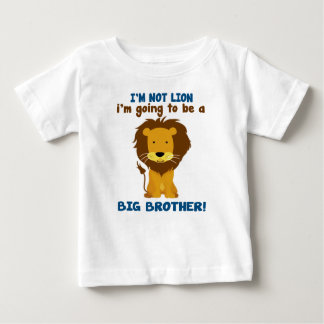 Camiseta Para Bebê Leão do big brother