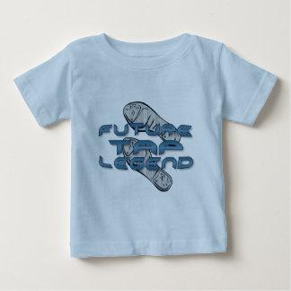 Camiseta Para Bebê Legenda futura da torneira