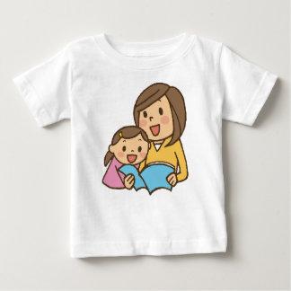 Camiseta Para Bebê Leitura junto