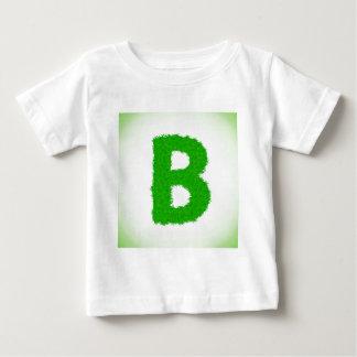 Camiseta Para Bebê letra da grama