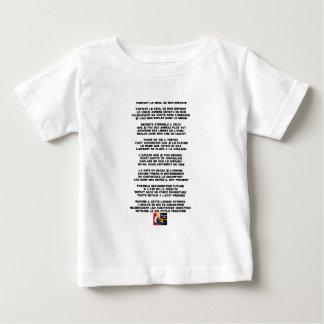 Camiseta Para Bebê Levando o Luto da minha Infância - Poema