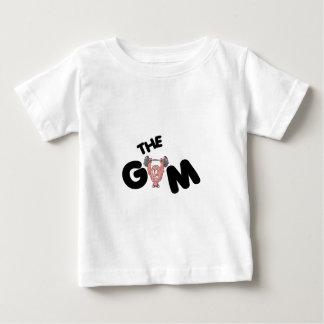 Camiseta Para Bebê Levantamento engraçado do gyp