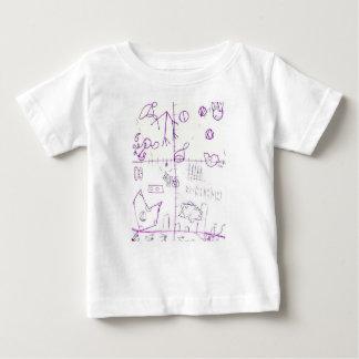 Camiseta Para Bebê Lexographical Symbolmantic Grimoire pela
