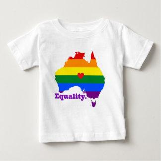 CAMISETA PARA BEBÊ LGBT AUSTRÁLIA