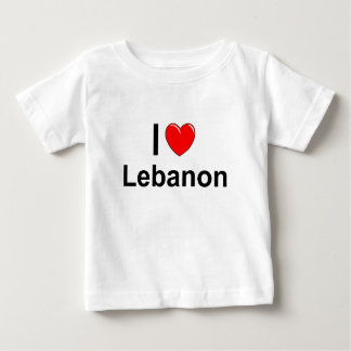 Camiseta Para Bebê Líbano