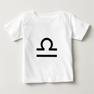 Camiseta Para Bebê Libra