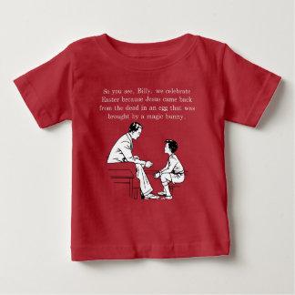 Camiseta Para Bebê Lição da páscoa de Billy