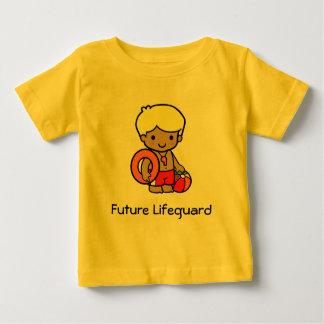 Camiseta Para Bebê Lifeguard futuro